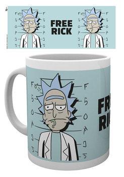 Caneca Rick And Morty - Free Rick