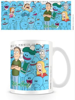 Caneca  Rick and Morty - Jerry and Mr Meeseeks