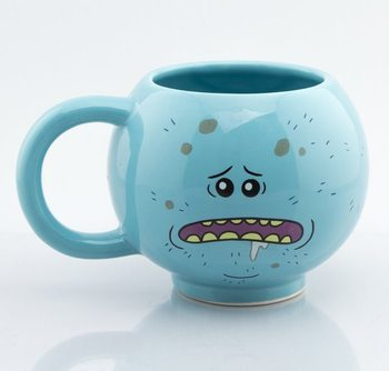 Caneca  Rick and Morty - Mr Meeseeks
