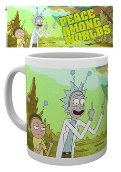 Caneca Rick And Morty - Peace
