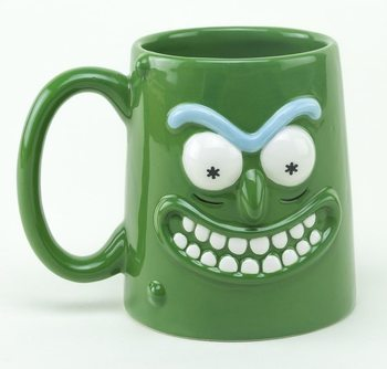 Caneca  Rick and Morty - Pickle Rick