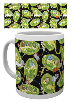 Caneca Rick And Morty - Portals