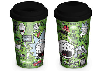 Caneca  Rick and Morty - Quotes
