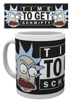 Caneca  Rick And Morty - Time To Get Schwifty