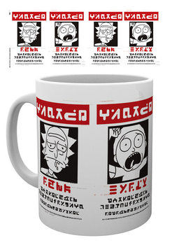 Caneca Rick And Morty - Wanted