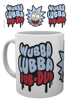 Caneca  Rick and Morty - Wubba Lubba Dub Dub