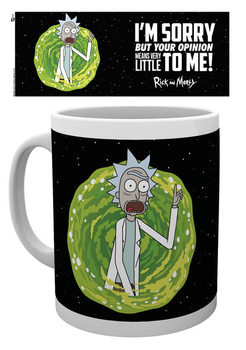 Caneca Rick And Morty - Your Opinion