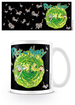 Caneca Rick & Morty - Floating Cat Dimension