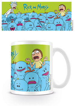 Caneca Rick & Morty - Mr. Meeseeks