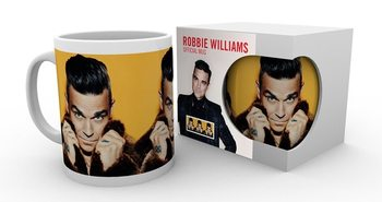 Caneca Robbie Williams - Fur