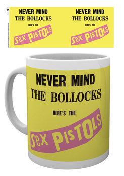 Caneca  Sex Pistols - Never Mind The Bollocks