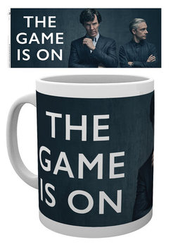 Caneca  Sherlock - The Game Is On