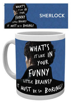 Caneca  Sherlock - What's It Like