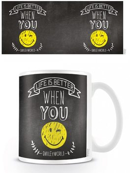 Caneca  Smiley - World Smiles WIth You
