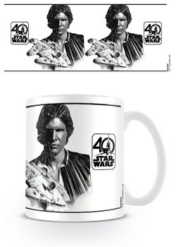 Caneca Star Wars 40th Anniversary - Han Solo
