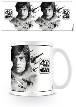 Caneca Star Wars 40th Anniversary - Luke Skywalker