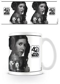 Caneca Star Wars 40th Anniversary - Princess Leia