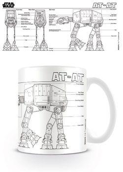 Caneca  Star Wars - At At Sketch