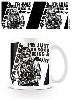 Caneca Star Wars - Kiss a Wookie