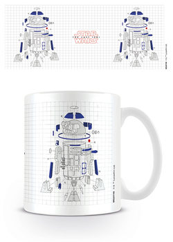 Caneca Star Wars: The Last Jedi - R2-D2 Exploded View