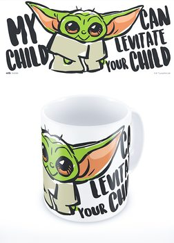 Caneca Star Wars: The Mandalorian - My Child Can Levitate Your Child