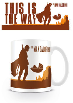 Caneca Star Wars: The Mandalorian - This is the Way
