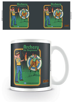 Caneca Steven Rhodes - Archery For Beginners