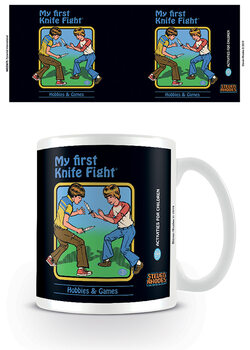 Caneca Steven Rhodes - My First Knife Fight