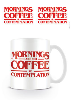 Caneca  Stranger Things - Coffee and Contemplation