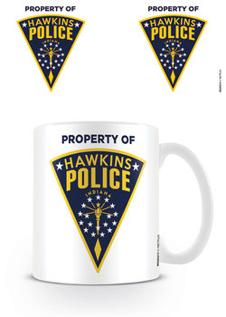 Caneca  Stranger Things - Hawkins Police Badge