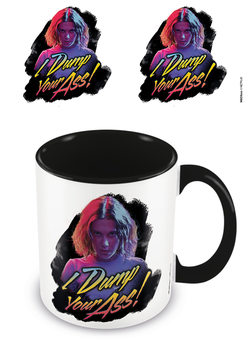 Caneca Stranger Things - I Dump Your Ass Retro