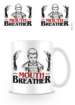 Caneca  Stranger Things - Mouth Breather