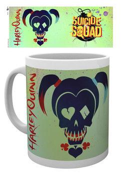 Caneca  Suicide Squad - Harley Skull