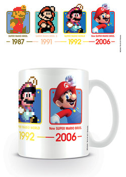 Caneca Super Mario - Dates