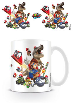 Caneca  Super Mario Odyssey - Cap Montage