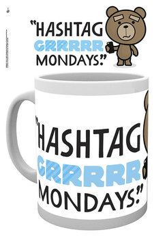 Caneca Ted 2 - Mondays