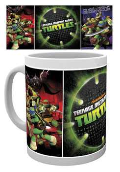Caneca Teenage Mutant Ninja Turtles - Grid