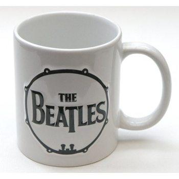 Caneca  The Beatles - Drum & Apple Records Sculptured