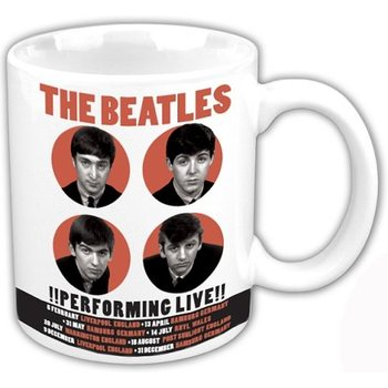 Caneca  The Beatles - Performing Live