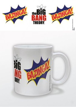 Caneca The Big Bang Theory - Bazinga Burst