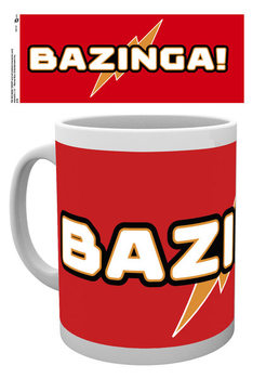 Caneca  The Big Bang Theory - Bazinga