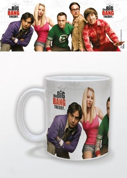 Caneca The Big Bang Theory - Cast
