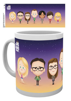 Caneca The Big Bang Theory - Characters