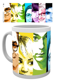 Caneca  The Big Bang Theory - Rainbow