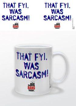 Caneca The Big Bang Theory - That FYI, was Sarcasm