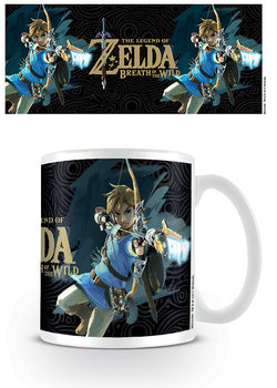 Caneca The Legend Of Zelda: Breath Of The Wild - Game Cover
