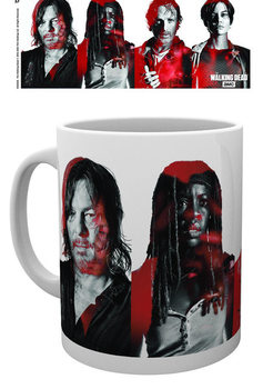 Caneca The Wakling Dead - Cast