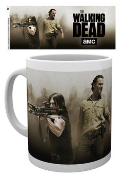 Caneca  The Walking Dead - Rick and Daryl
