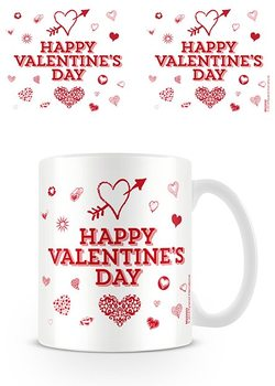 Caneca  Valentine's Day - Happy