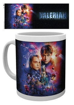 Caneca Valerian - One Sheet Cast